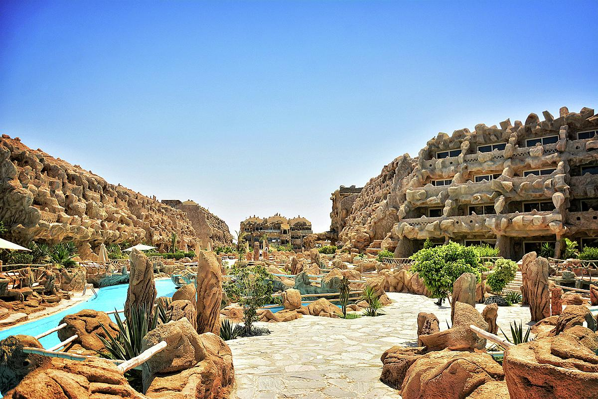 Caves Beach Resort Hurghada  Egypt  CK Fischer