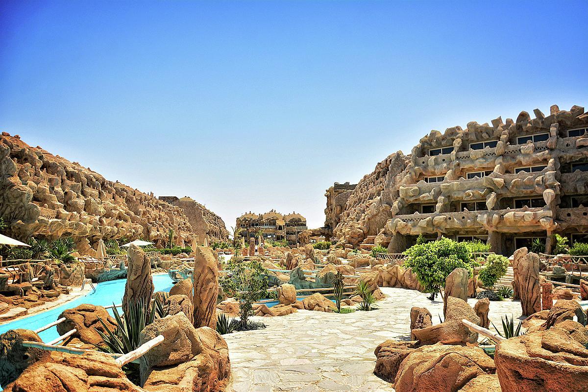 Caves Beach Resort Hurghada  Egypt  CK Fischer